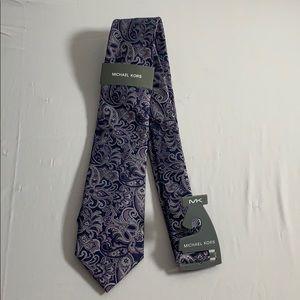 Purple Michael Kors Tie NWT